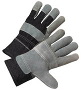 "Standard Cowhide Patch Palm Glove 2.5"" Cuff (L) 12/pr"