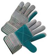 "Premium Double Cowhide Palm Glove 2.5"" Cuff (M) 12/pr"