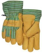 """Insulated Pigskin Palm Glove 2"""" Cuff (L) 1/pr"""