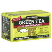 R.C.Bigelow® 1-cup Tea Bags - Green Tea With Pomegranate cs/168