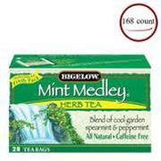 R.C.Bigelow® 1-cup Tea Bags - Mint Medley cs/168