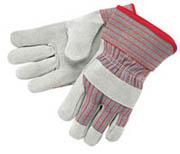 """Standard Cowhide Palm Glove 2.5"""" Cuff (L) 12/pr"""