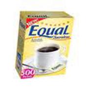 Equal® Yellow Sucralose Sweetener .035-oz cs/500