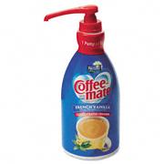 Nestle® Liquid Coffee Creamer, Pump Dispenser, French Vanilla - 625-ml, cs/3