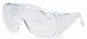 V10 Unispec® II25646 Jumbo Safety Glasses w/Clear Lens 1/ea