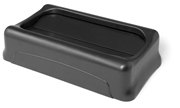 Swing Lid for Slim Jiml® Waste Containers (Black) 1/ea