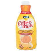 Nestle® Liquid Coffee Creamer, Pump Dispenser, Hazelnut - 1.5-ltr, cs/2