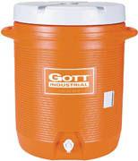 Gott® 10-gl Cooler  orange 1/ea