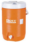 Gott® 3-gl Cooler  orange 1/ea