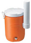 Rubbermaid® 5-gl Cooler With Cup Dspr. orange 1/ea