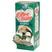 Coffee-Mate® Liquid Creamer - Irish Cream .38-oz, cs/200