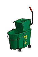 Green WaveBrake® 35-qt. Mop Bucket & Down-Press Wringer Combos 1/ea