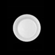 "Concord® White Standard Foam Plate 7"" cs/1000"