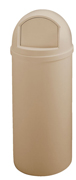 Marshal® Classic Containers 15-gal. (Beige) 1/ea