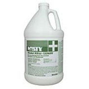 Misty® Biodet ND32 Liquid Disinfectant Deodorizer Lemon, 128-oz, cs/4