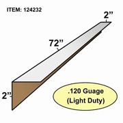 "Edge Board Corner Protectors .120"" x 2"" x 2"" x 72"" skid / 1470"