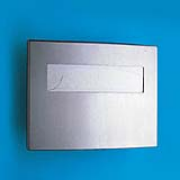 Stainless Steel Toilet Seat Cover Dispenser 1/ea