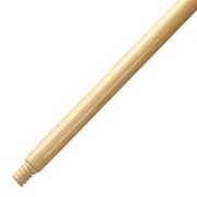 "Threaded End Broom Handle 15/16"" x 54"" Wood"