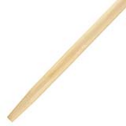 "Tapered End Handle 1-1/8"" x 54"" Wood"