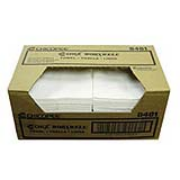 "Worxwell® General Purpose Towels - White, Smooth, 13""x15"", cs/100"