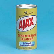 Ajax® Oxygen Bleach Powder Cleanser (Calcite Base) 14-oz, cs/48