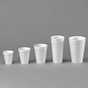 24-oz White Foam Cup - cs/500