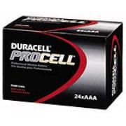 Duracell® PROCELL® Alkaline Batteries - AAA, pk/24