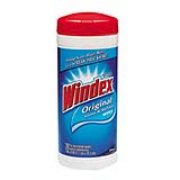 "Windex® Glass & Surface Wipes 7""x8"", cs.252"