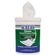 SCRUBS® Green Cleaning Wipes cs/540