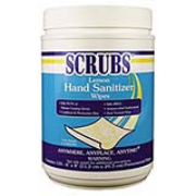 Antimicrobial SCRUBS® Hand Sanitizer Wipes - 120 cnt Bucket