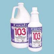 Conqueror 103 Odor Counteractant Concentrate 32-oz Lemon cs/12