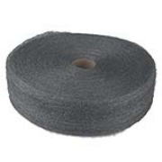 Industrial-Quality Steel Wool Reels #1 cs/6