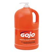 GOJO® NATURAL* ORANGE™ Smooth Hand Cleaner (Lotion) cs/4