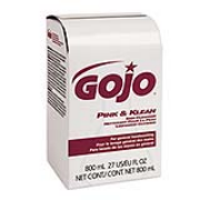 GOJO® Pink & Klean Skin Cleanser - 800 ml, 1cs/2