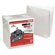 "Brawny Industrial® Premium All-Purpose Wipers - White, 12.5""x13"", cs/960"