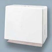 White Easy-Mount White Steel S/F Dispenser 1/ea