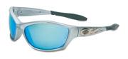 Harley-Davidson®  HD1000 Safety Glasses w/Blue Mirror Lens 1/ea