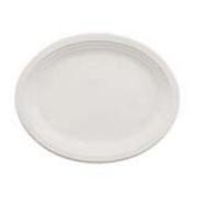 """Heavyweight Chinet® Classic White® Premium Oval Platter 9.75""""x12.5"""", cs/500"""