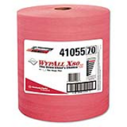 """WYPALL* X80 Towels - Red, Smooth, 12.5""""x13.4"""", cs/475"""