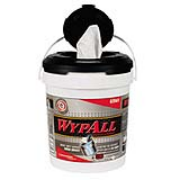 "WYPALL* Wipers in a Bucket - White, 10""x13"", cs/440"