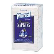 Marcal® Beverage Napkin 9.5 x 9.5 , cs/4000