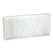 "3M™ White 4-5/8 x 10-1/2"" Cleaning Pad cs/20"