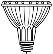 Halagen Bulb Par30 Med-Base 60-wat S2243 1/ea