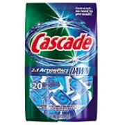 Cascade® 2in1 ActionPacs® Automatic Dishwasher Detergent Pacs, cs/100
