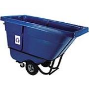 Bulk Recycling Tilt Truck 1/2-cubic yard (Blue) 1/ea