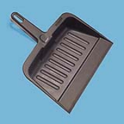 "12-1/4"" Heavy-Duty Plastic Dust Pan"