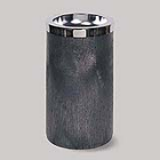 "Smoking Urn w/Metal Ashtray 11-1/2 dia x 19-1/2""h (Black) 1/ea"