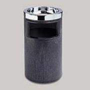 Smoking Urn/Trash Receptacle 2-gal. Black 1/ea