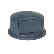 Dome Top for 55-gal. Round Brute® Container (Gray) 1/ea