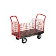 Side Panel Platform Truck - Thermo Plastic Rubber Casters 1/ea